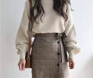 fashion, outfit, and skirts image