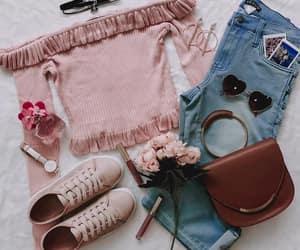 blue, outfits, and precious image