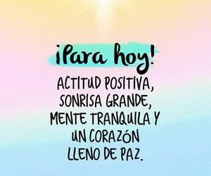 feliz, sonrisa, and paz image