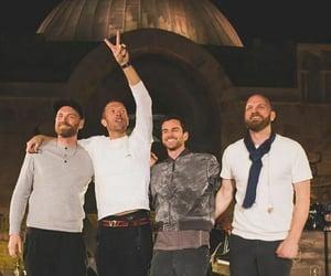 guy berryman, band, and Chris Martin image