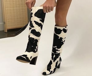 fashion, boots, and dress image