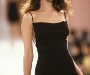 Christy Turlington, 90s, and fashion image