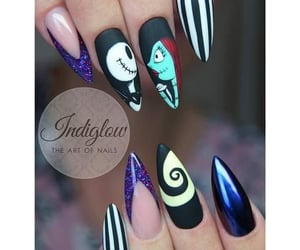 the nightmare before christmas and nail's image