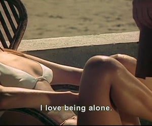 alone and subtitle image