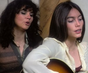 music, emmylou harris, and linda ronstadt image