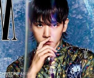 exo, idol, and magazine image