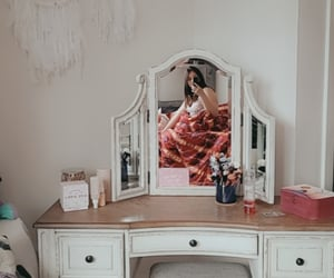 light, mirror, and morning image