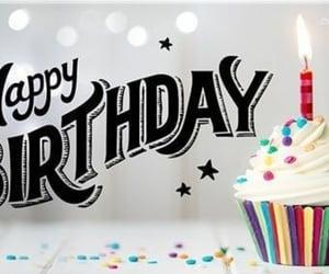 birthday, cupcake, and drinks image