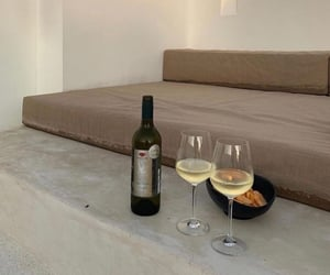 wine, aesthetic, and beige image