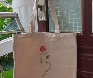 art, bag, and canvas image