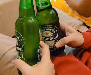 heineken, beer, and cheers image