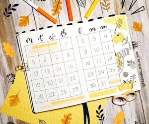 calendar, pentel, and bujo image