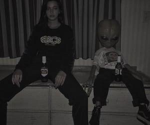 drink, grunge, and alien image