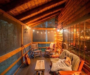awesome, cabin, and outdoor image