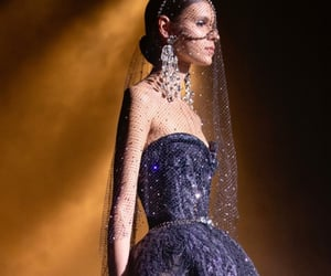 elie saab, glamour, and gown image
