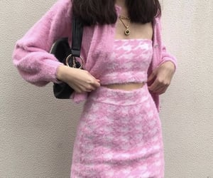kfashion, pink, and outfit image