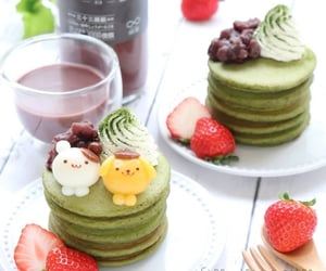 aesthetic, delicious, and green image