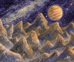 звёзды, космос, and планеты. image