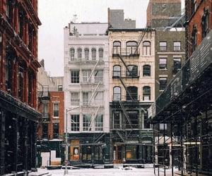 christmas, city, and february image