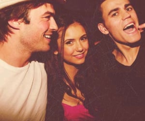 tumblr, ian somerhalder, and Nina Dobrev image