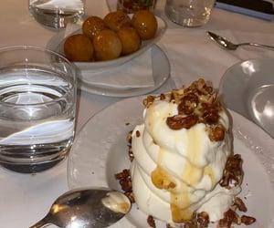dessert, honey, and tasty image