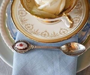 tea, teacup, and vintage image