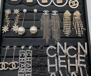 chanel and earrings image