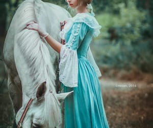 horse, fairytale, and princess image