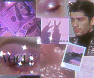 background, zayn, and pink image