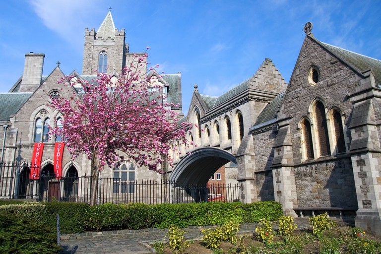 dublin and christ church cathedral image