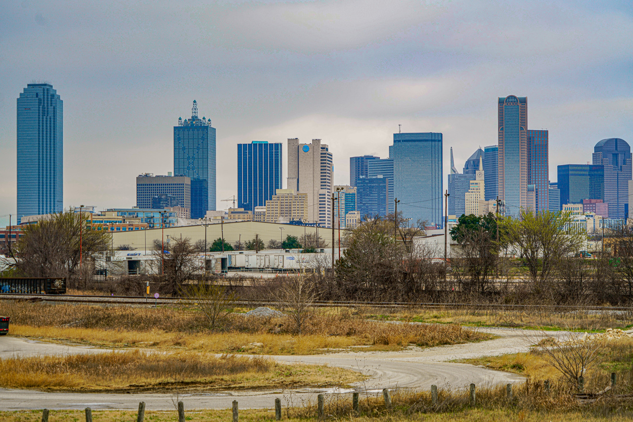 architecture, city, and DFW image