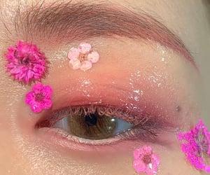 blue eye, blue eyes, and eyeshadow image