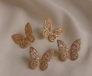accessories, butterfly, and fashion image