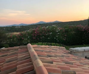 aesthetic, home, and sunset image