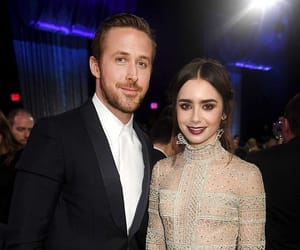 ryan gosling, lily collins, and mirror mirror image
