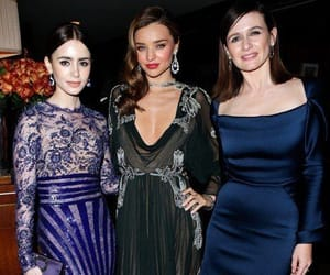 Emily Mortimer, miranda kerr, and lily collins image