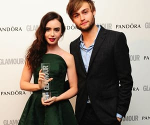 lily collins, mirror mirror, and douglas booth image