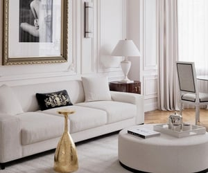 couch, interior, and sofa image