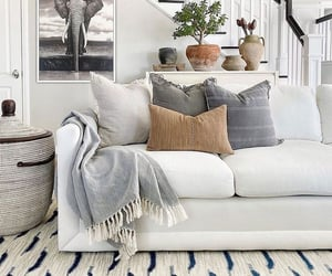 couch, deco, and home image
