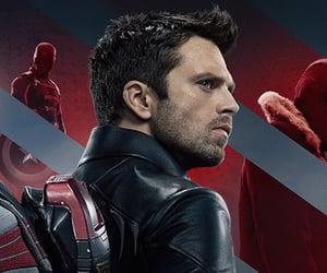 Avengers, Marvel, and bucky barnes image