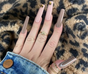 long nails, nails, and cute nails image