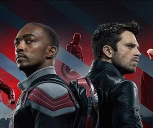 Avengers, Marvel, and anthony mackie image