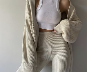 everyday look, knit cardigan, and fashionista fashionable image