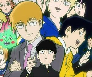 anime, mob, and header image
