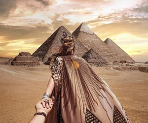 travel, followmeto, and egypt image