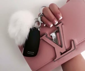 chic, LV, and style image
