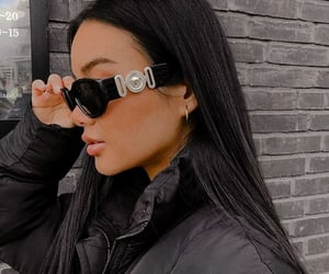 luxury, outfit, and sunglasses image