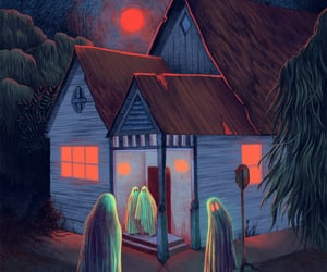 art, gothic americana, and ghosts image