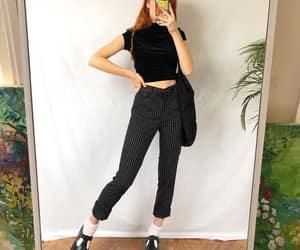 black, sweater, and turtleneck image