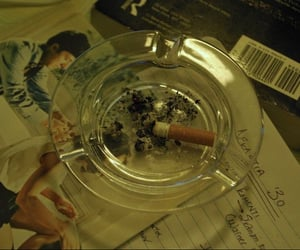 aesthetic, ashtray, and photography image